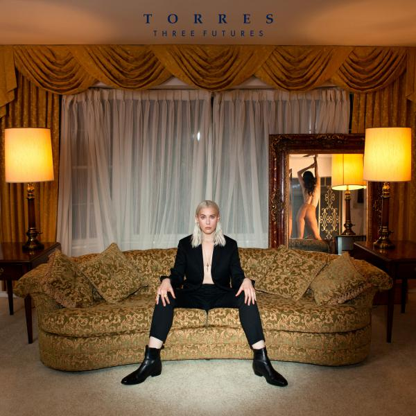 Torres' third full-length, out now on 4AD, is <em>Three Futures</em>