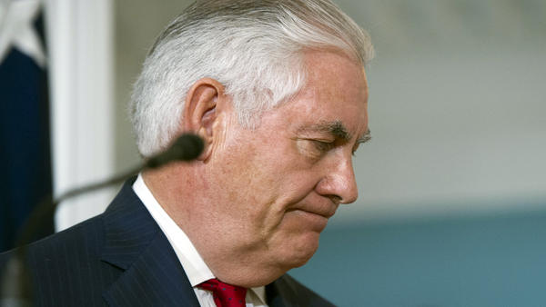 "In October, Secretary of State Rex Tillerson did not deny reports that he called President Trump a ""moron."" It was one of several signs of tension between the men."