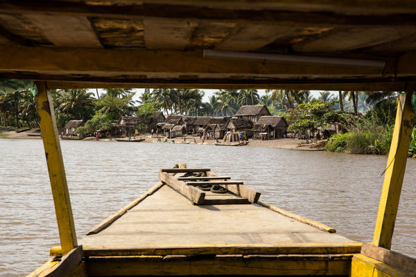 Traveling from village to village by boat, the staff from Marie Stopes International offer long-lasting birth control including IUDs, implants and tubal ligation.