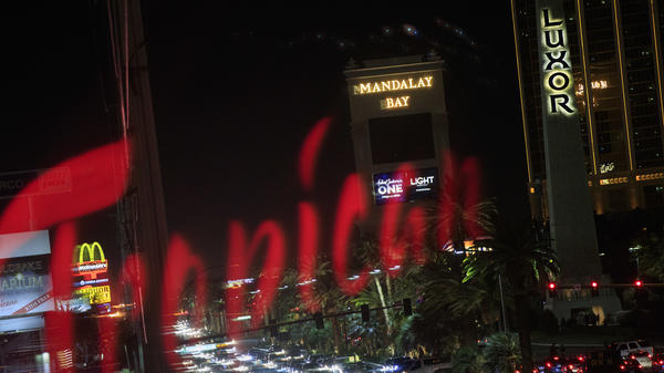 The parent company of the Mandalay Bay Resort and Casino had put out a statement that appeared to contradict the police timeline of the mass shooting.