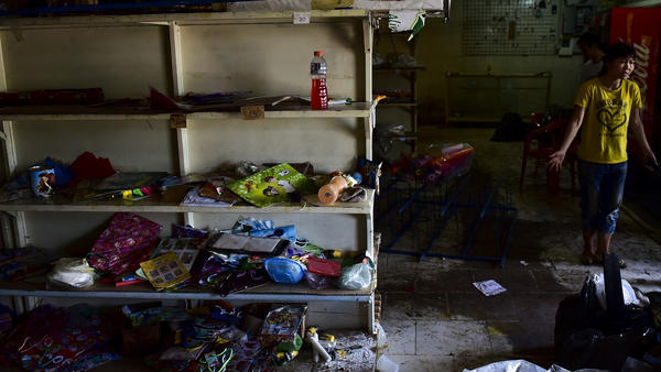 One of many grocery stores in Venezuela where the shelves are bare. Even in regions such as Latin America that do well overall, there are glaring exceptions, such as Venezuela, where political turmoil has created massive price inflation and food shortages.