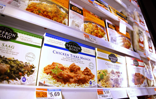 Food that met Muslim dietary strictures was once difficult to come by, but the growth of the American Muslim population — and the increase in non-Muslims consuming halal food — has made it much easier to find such offerings in supermarkets like Whole Foods Market.