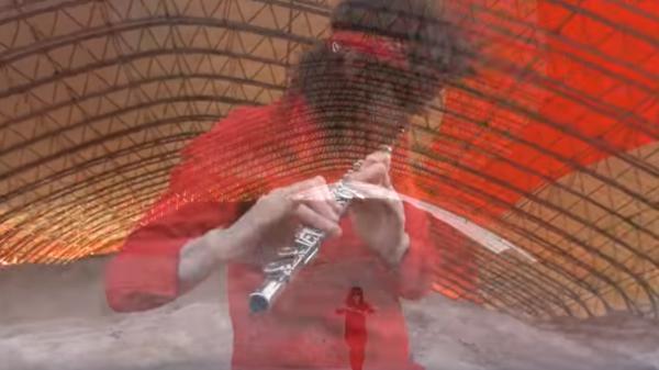 """A still from Ka Baird's """"Metamorphoses"""" video."""