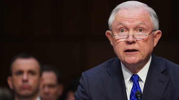 In his opening statement before the Senate Judiciary Committee, Attorney General Jeff Sessions rebuffed the panel's Democrats on the issue of executive privilege.