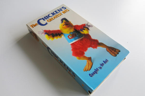 <em>The Chicken's Greatest Bits</em>, featuring sports mascot the San Diego Chicken, was produced by Bannon Film Industries in 1993.
