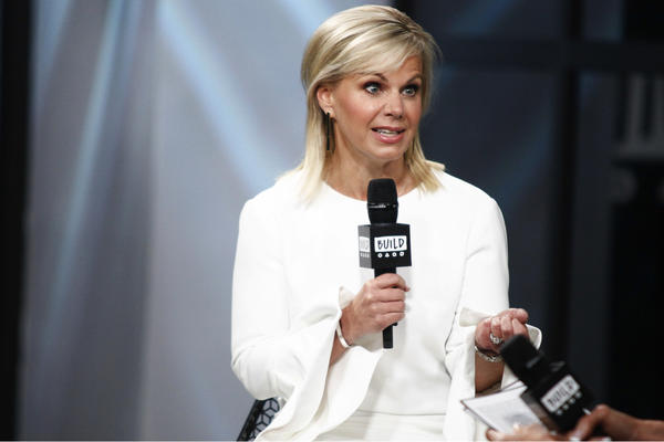 Gretchen Carlson speaks earlier this month in New York.  (Andy Kropa/AP)