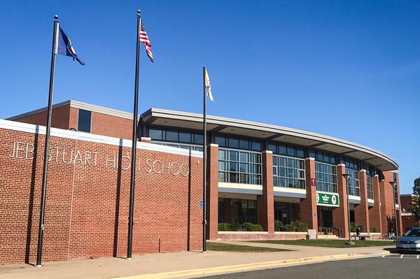 J.E.B. Stuart High School in Falls Church, VA.