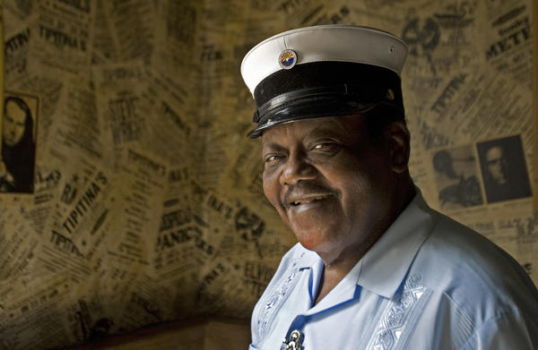 Fats Domino in 2007