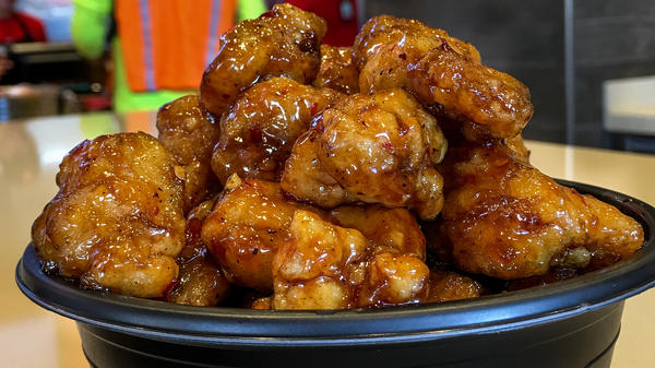 Panda Express came up with the recipe for Orange Chicken 30 years ago today. It's the company's signature dish and top seller.