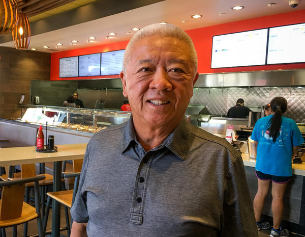 Panda Express co-founder Andrew Cherng says the chef who created Orange Chicken was inspired by flavors from the Hunan Province in China.