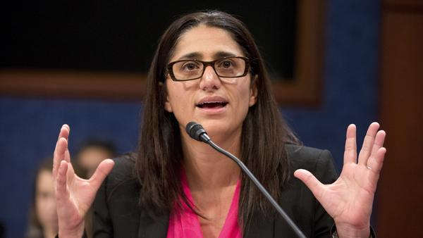 Dr. Mona Hanna-Attisha, who helped expose the Flint water crisis, speaks during a House Democratic Steering and Policy Committee hearing on Capitol Hill in Washington, D.C., on Feb. 10, 2016.