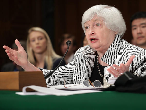 President Trump hasn't said whether he will reappoint Federal Reserve Chair Janet Yellen to a second term. He is expected to announce his decision Thursday.