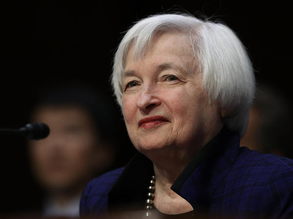 Janet Yellen has served as chair of the Federal Reserve Board since 2014.