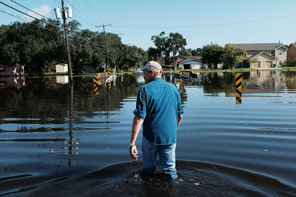 Hurricane Harvey delivered record rainfall to East Texas. Many scientists believe that climate change helped to make the storm wetter.