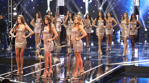 Clad in shimmering minidresses, the 23 contestants in this year's Miss Peru pageant each stated a fact about gender violence.