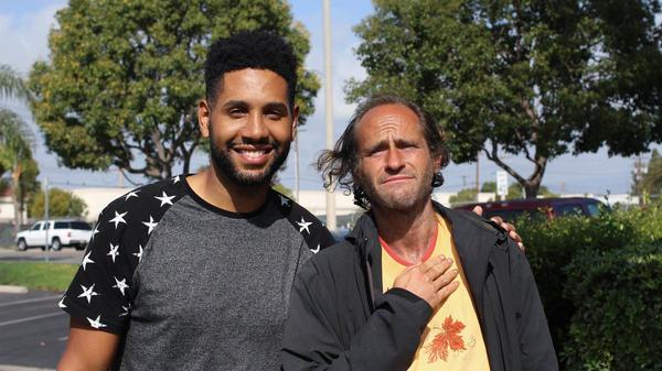 Brian Peterson, 31, and Matt Faris, 38, in Santa Ana, Calif.