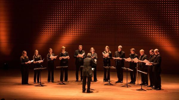 The Tallis Scholars, one of four choir groups who will be performing at Lincoln Center's The Psalms Experience.