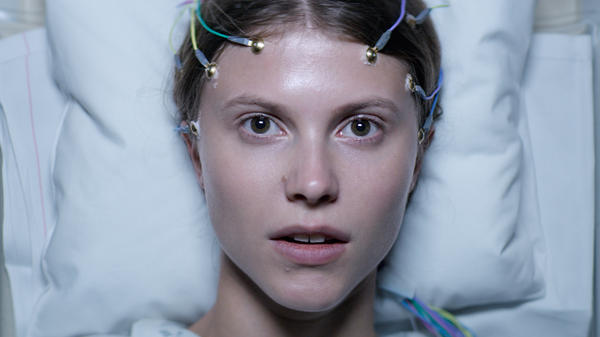 How Do You Say 'Carrie' In Norwegian?: Eili Harboe's Thelma gets hooked up in <em>Thelma</em>.