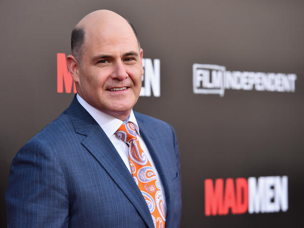 Matthew Weiner attends the <em>Mad Men</em> Live Read at the Ace Hotel in Los Angeles.