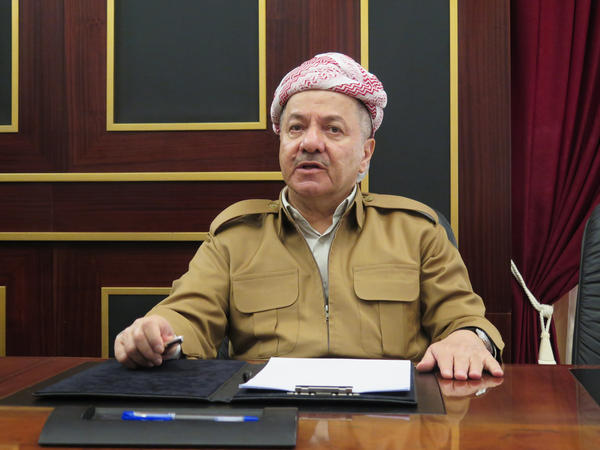 "Masoud Barzani stepped down last week as president of Iraq's Kurdistan regional government. The independence referendum he pushed through resulted in a military attack by Iraqi forces. But, he tells NPR, ""I am very proud that we have given the opportunity for the Kurdish people to express their vote."" He says the region will reassess its relationship with the U.S."
