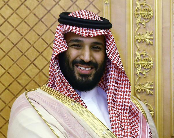 Saudi Crown Prince Mohammed bin Salman, seen in July.