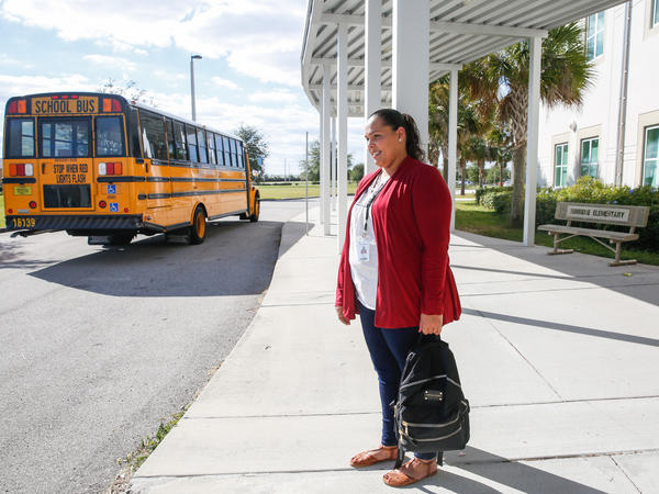 Yara Ramos is a veteran teacher from Camuy, Puerto Rico. She arrived in Orlando with her four children, still ambivalent about her career.