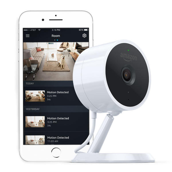 Amazon's Cloud Cam is part of the Amazon Key in-home delivery system, rolling out on Wednesday.