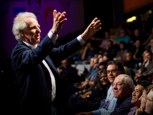 Benjamin Zander on the TED stage