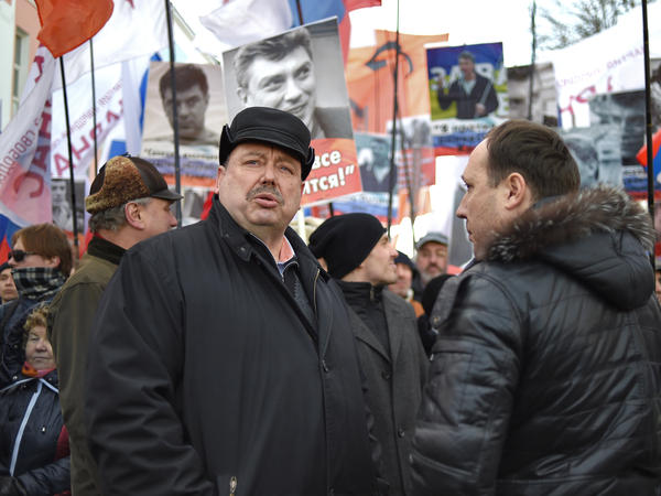 """Putin and his entourage are absolutely not interested in bad relations with America. They're scared of that. But the circumstances are such that they can't help but use anti-Americanism to strengthen their grip on power,"" says Gennady Gudkov, an opposition politician formerly with the KGB, shown here in February."