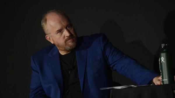 Louis C.K. attends a TV screening in New York City on Sept. 22. C.K. has admitted to repeated sexual misconduct around and in front of female comedians.