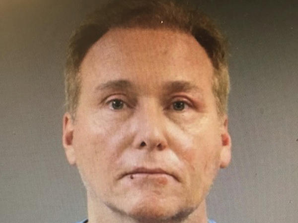 This photo provided by the Warren County Regional Jail shows Rene Boucher, who has been arrested and charged with assaulting and injuring U.S. Sen. Rand Paul of Kentucky.