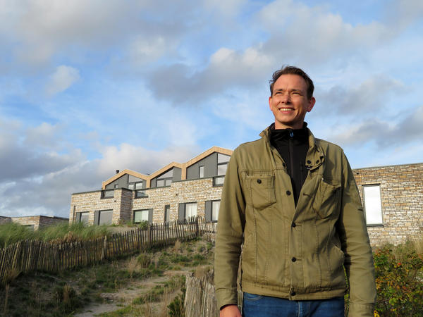 "Jos Hartman, an architect at the Duin development near Amsterdam, says Duin is ""a pilot project testing if people like living on artificial dunes that elevate the land,"" he says. ""So far, it's a success.""<strong> </strong>"