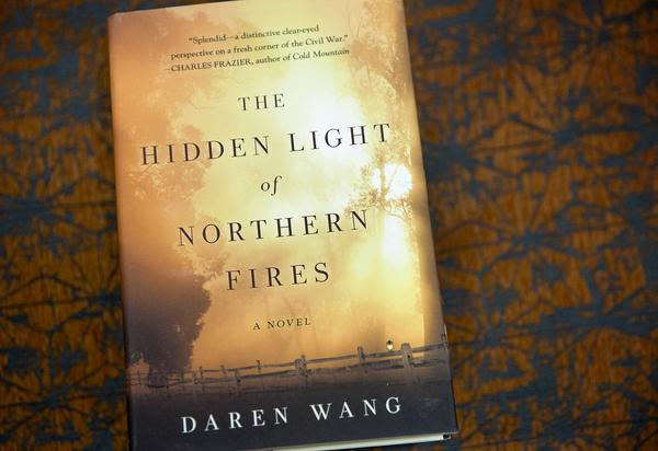 The Hidden Light of Northern Fires, by Daren Wang. (Robin Lubbock/WBUR)