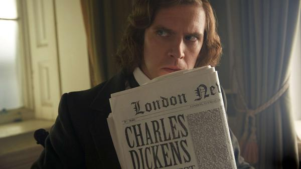 Dan Stevens stars as Charles Dickens in <em>The Man Who Invented Christmas.</em>