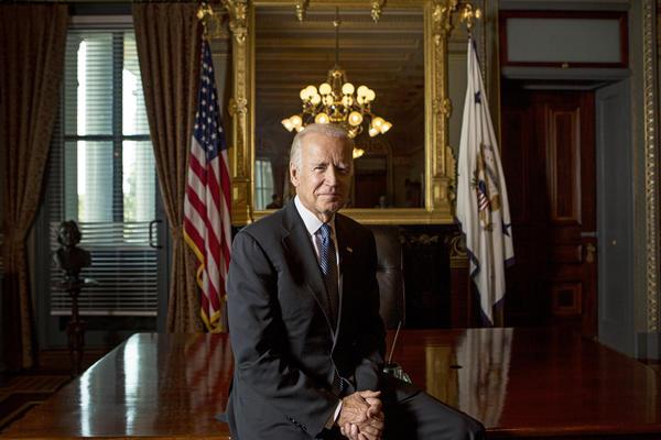 Former Vice President Biden in 2016.