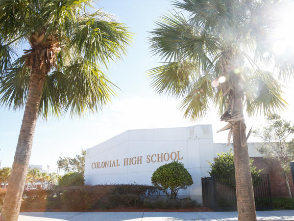 Colonial High School in Orlando has already enrolled nearly 100 students from Puerto Rico and the Virgin Islands.