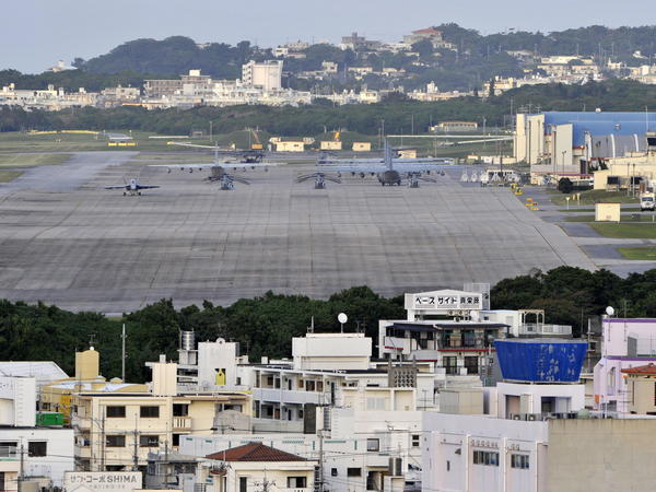 U.S. Marine Corps Air Station Futenma in Okinawa, Japan.