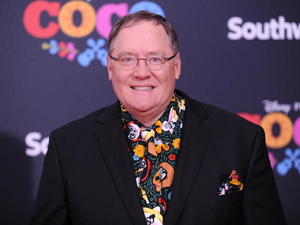 John Lasseter at a movie premiere at El Capitan Theatre earlier this month in Los Angeles.