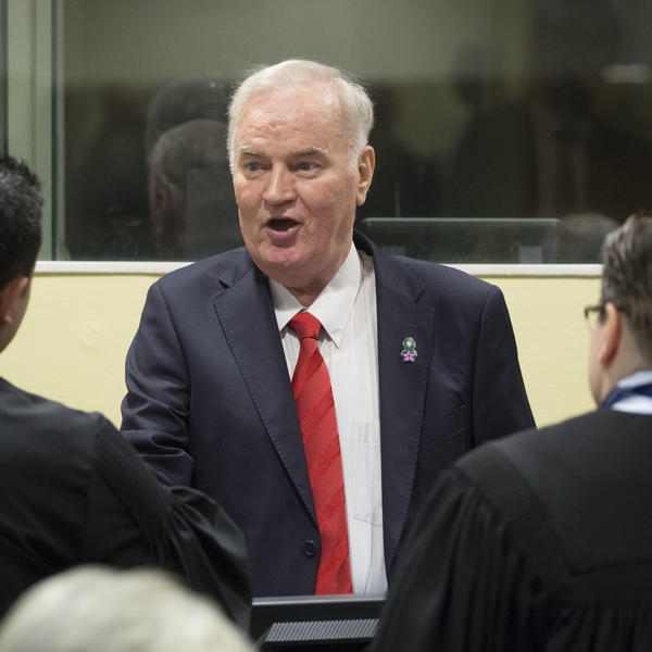 Former Bosnian military chief Ratko Mladic was sentenced to life imprisonment on Wednesday for genocide and crimes against humanity.