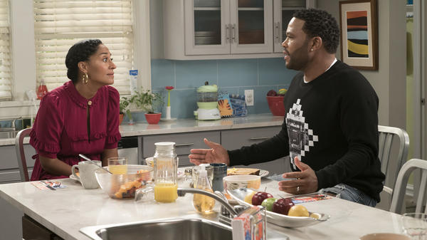 Tracee Ellis Ross and Anthony Anderson play Bow and Dre Johnson on <em>Black-ish</em>.