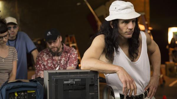 Seth Rogen plays the script supervisor to James Franco's writer/director Tommy Wiseau in <em>The Disaster Artist.</em>