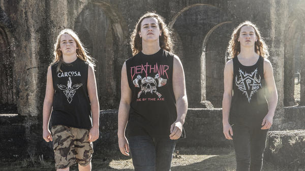 The prize-winning trio mix their Maori culture with heavy metal.