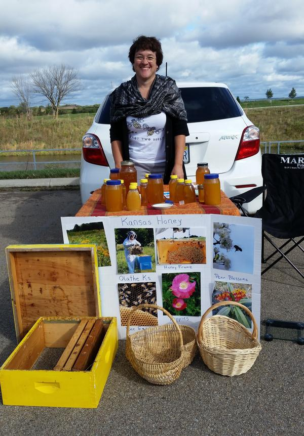 Theresa Sahhar, from Olathe, Kan., works in sales part time. But to afford the education she wants for her son, she'll sell her chickens' eggs or, as a beekeeper, sell honey at farmers' markets.