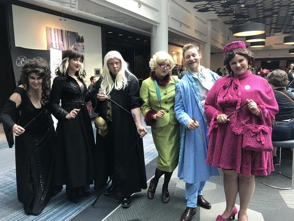 """At the Potterverse convention in Baltimore, adults and children alike enjoy talking about their Harry Potter Hogwarts """"houses"""" — and the houses they think their friends should be in."""