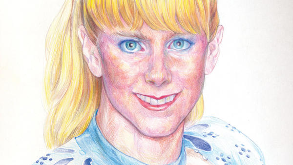 "Artwork for Sufjan Stevens' ""Tonya Harding"" single."