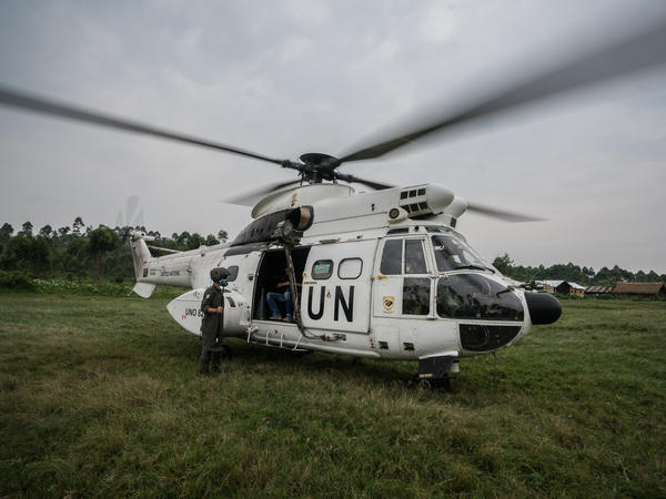 The U.N. has operated in the Democratic Republic of the Congo for years. Thursday evening's attack was the bloodiest assault on peacekeeping forces in recent memory, according to a U.N. official.