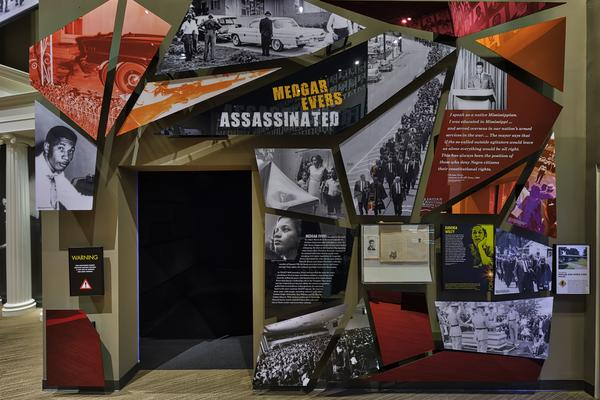 Museum exhibits, including one on the assassination of Medgar Evers, take visitors through significant events that drove the fight for civil rights forward.