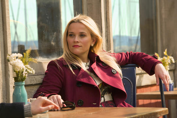 Reese Witherspoon in HBO's <em>Big Little Lies</em>. Witherspoon was nominated for a Golden Globe for best actress in a limited TV series or movie on Monday.