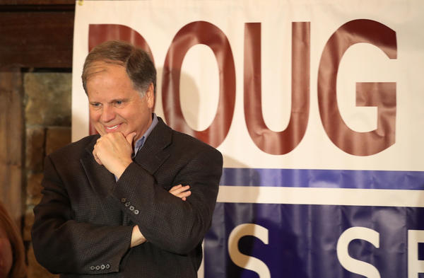 Turning out black voters is key for Democratic Senate candidate Doug Jones; African-Americans make up about 27 percent of Alabamians and about 23 percent of registered voters.