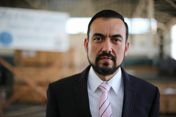 Defence lawyer Walter Ruiz represents Mustafa Ahmad al Hawsawi, one of the detainees accused of orchestrating the Sept. 11, 2001 attacks.